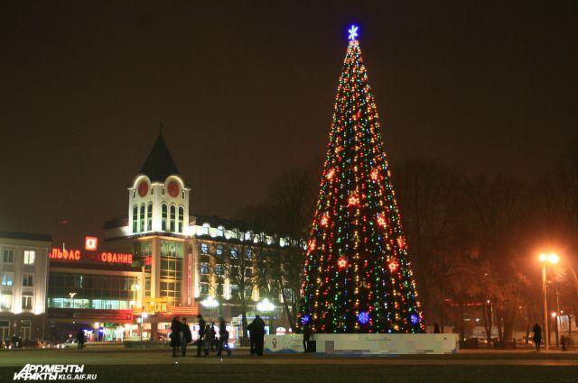 фото калининград новый год