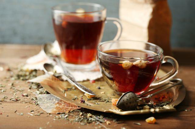 Чай для сибиряков - первый напиток.