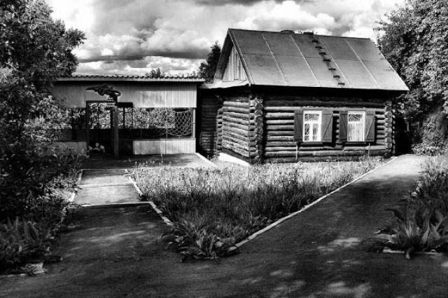 Дом-музей в. Астафьева на ул. Партизанской.