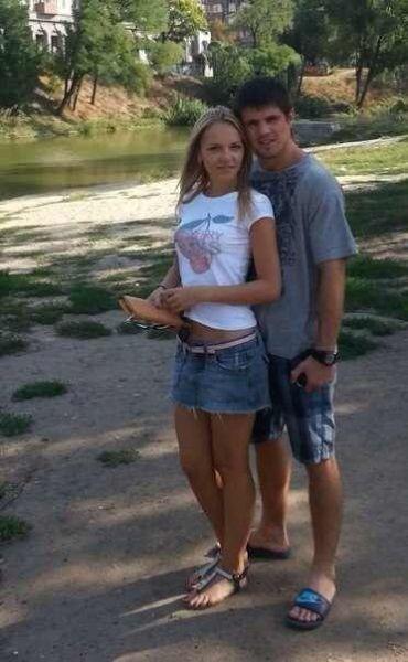 Евгений Хитров и Оля