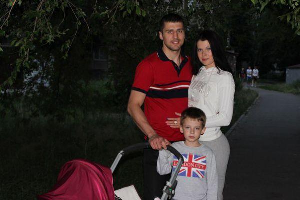 Александр Гвоздик и Даша