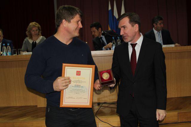 Алексей Иванков получил награду от президента РФ.
