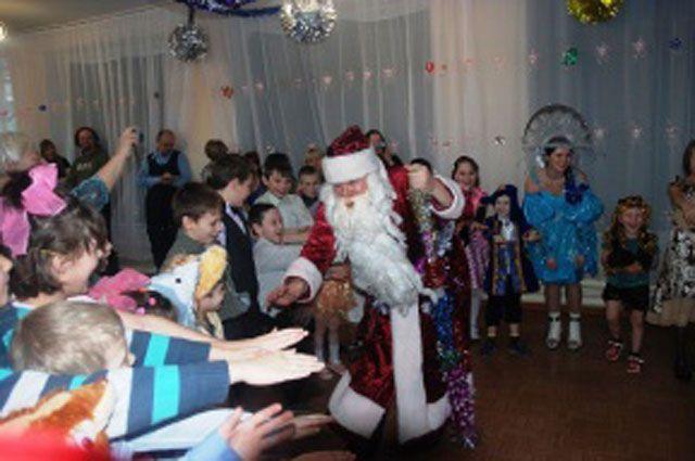 Новогоднее представление в Ангарске.