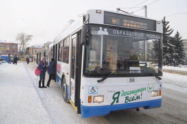 Модернизированный троллейбусов на дорогах Омска становится все больше.