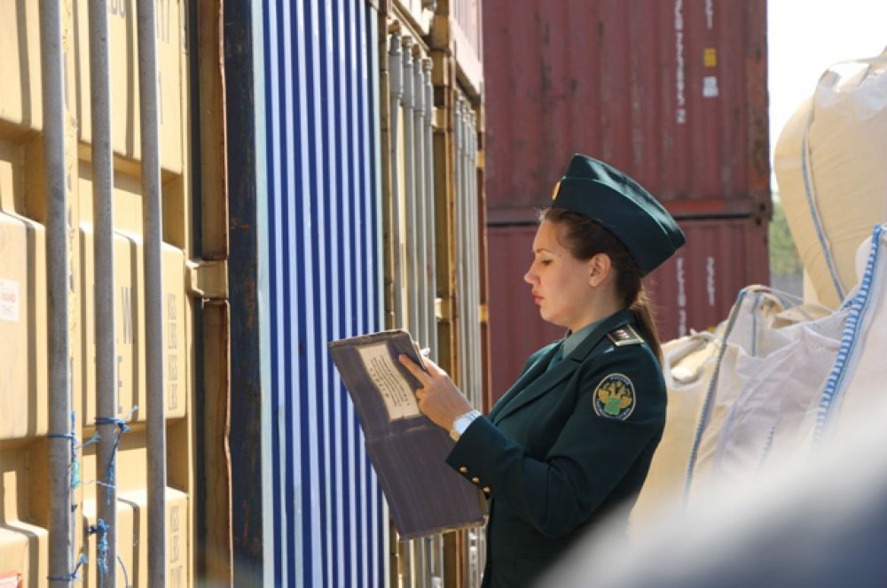Сотрудники Ростовской таможни осуществляют таможенный контроль на всех направлениях перемещения товаров через государственную границу.