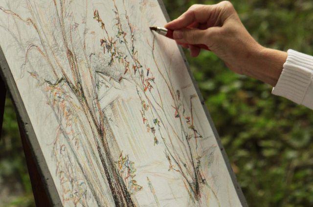 Работы художников будут выставлены на аукционе.