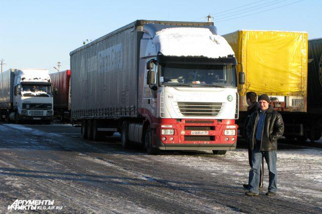 Власти Калининградской области уверяют, грузовики белорусские таможенники задержали под надуманным предлогом.
