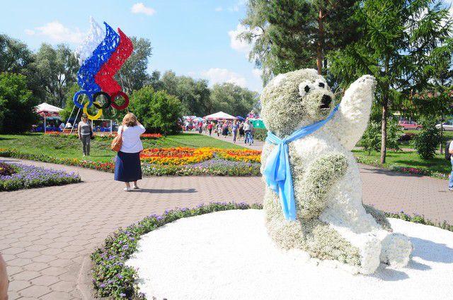 «Флора» - традиционная для Омска выставка.