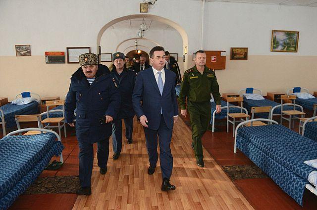В казарме Уссурийского СВУ.