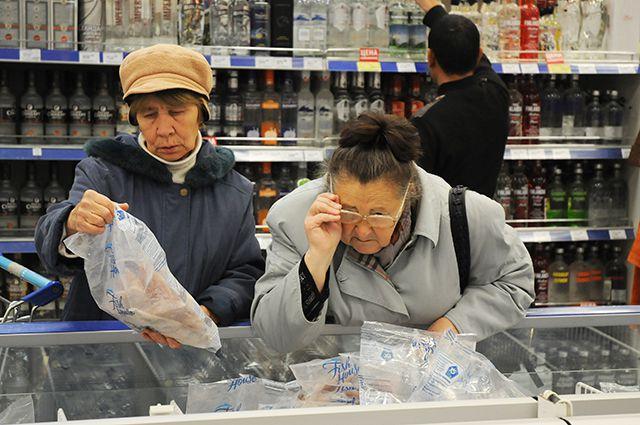 Омичи почти за год накупили продуктов на 117 млрд рублей.