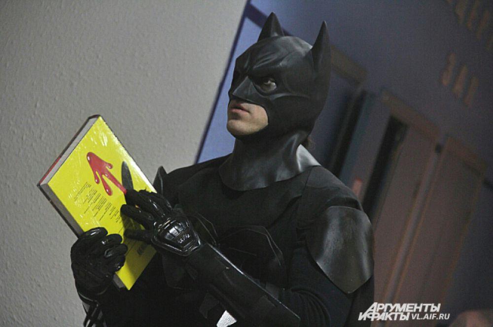 Бэтмен, похоже, нашёл верное направление.