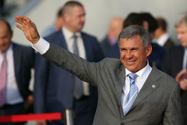 Глава Татарстана Рустам Минниханов – на третьем месте.