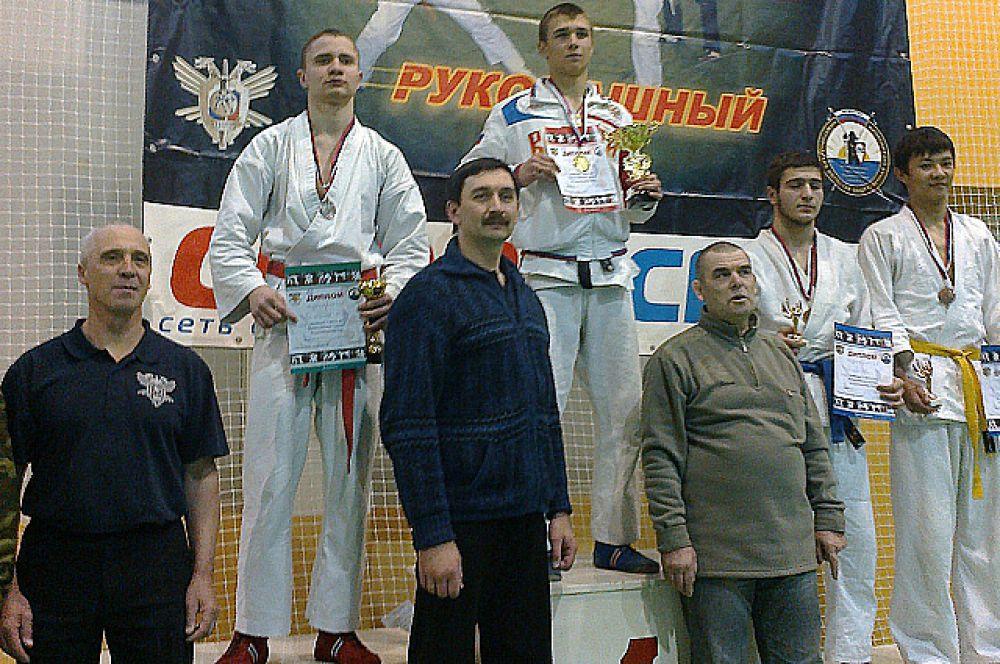 """Семен Юдин занял 1 место в категории """"16-17 лет, 70 кг"""""""