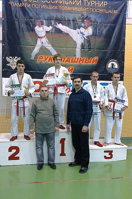 """Егор Семин занял 1 место в категории """"16-17 лет, 60 кг"""""""