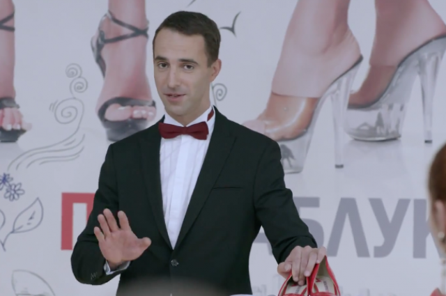 Актёр Илья Любимов в сериале «Под каблуком».