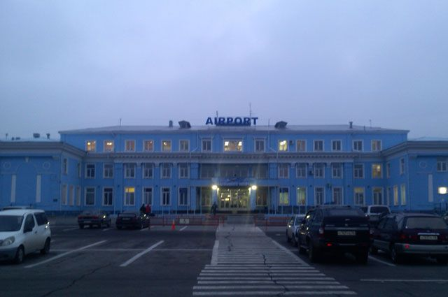 Иркутский аэропорт.
