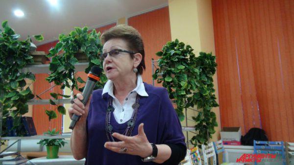 Татьяна Курсина, исполнительный директор АНО «Пермь-36,  отметила многогранность информационного проекта электронная Книга памяти.