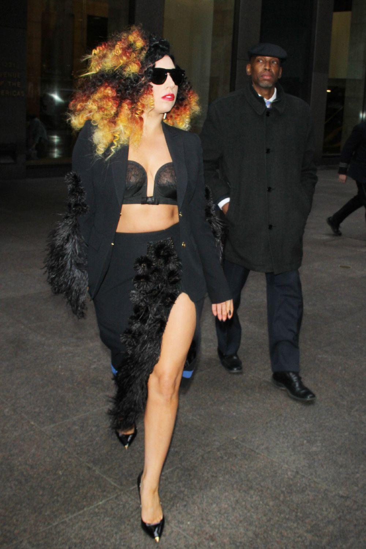 Поп-певица Леди Гага
