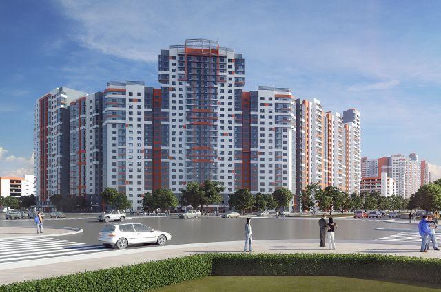 Здесь 1000 квартир разных типов и планировок.