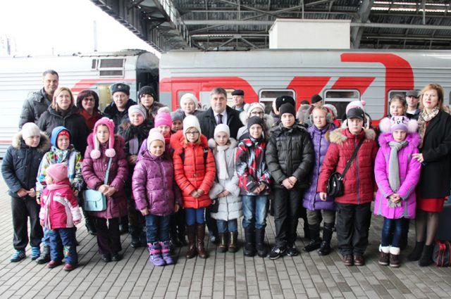 Для некоторых юных калининградцев путешествие в Москву станет первым в их жизни.