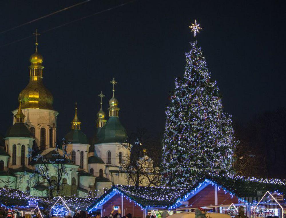 2014 год. Открытие главной елки страны состоялось 19 декабря
