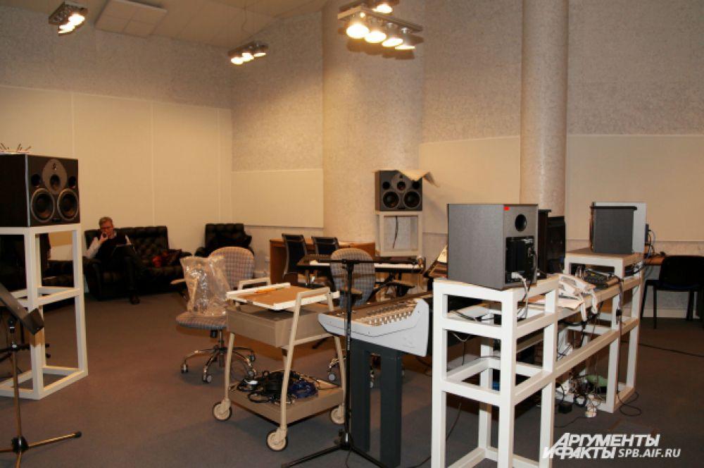 1-я студия, где проходят записи концертов