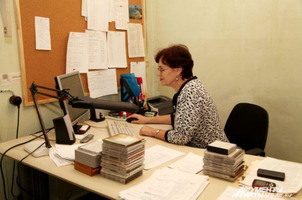 Шеф-редактор редакции художественных программ - Елена Павловна Гаевая