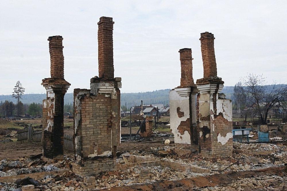 Конец мая принес трагедию в таёжный поселок Дальний Нижнеилимского района. Лесной пожар уничтожил 22 дома и школу: http://www.irk.aif.ru/society/1181707