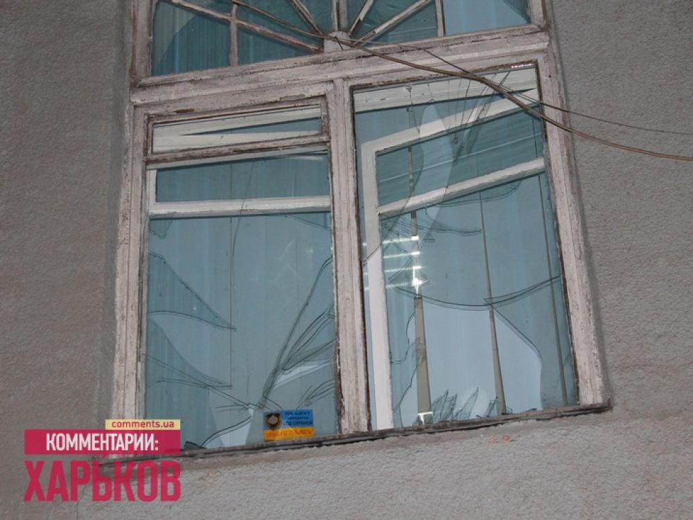 Последствия взрыва на улице Рымарской в Харькове