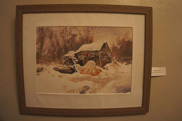 Картина «Тихий снежный день».