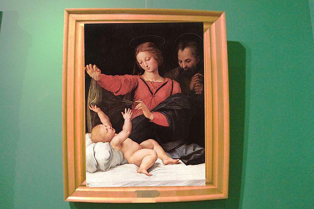 Картина «Святое семейство» Рафаэля Санти.
