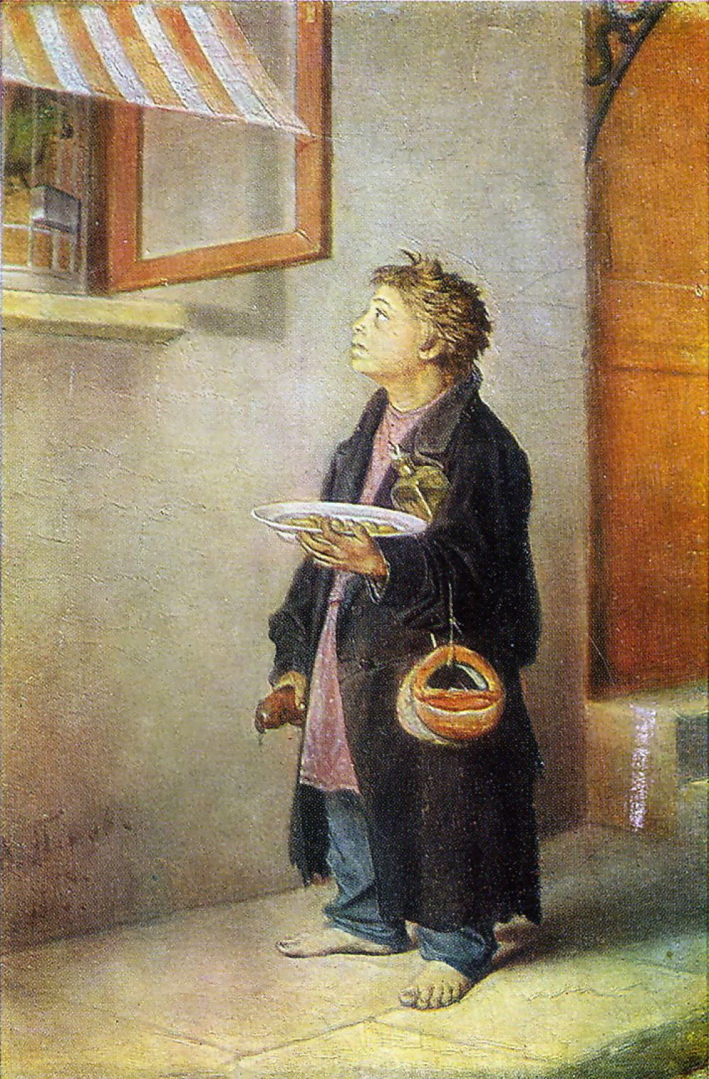 Семья Перова переехала в Арзамас,  здесь мальчик закончил уездное училище и Арзамасскую художественную школе А.В. Ступина. Неизгладимый след на всем творчестве Перова оставили впечатления, вызванные закрепощенной деревней, где жил художник вместе со своим отцом в родовом имении.