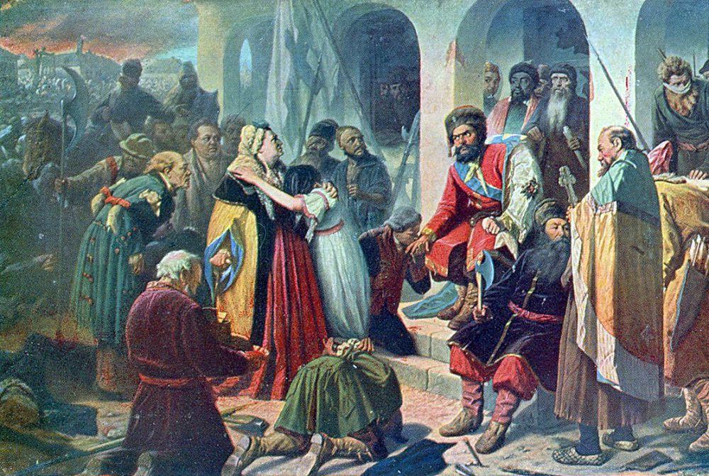 В конце семидесятых Перов обращается к теме народных восстаний и пишет картины «Суд Пугачева» (1879) и «Никита Пустосвят» (1881). Критики считают, что эти полотна подготовили появление знаменитых произведений Сурикова.