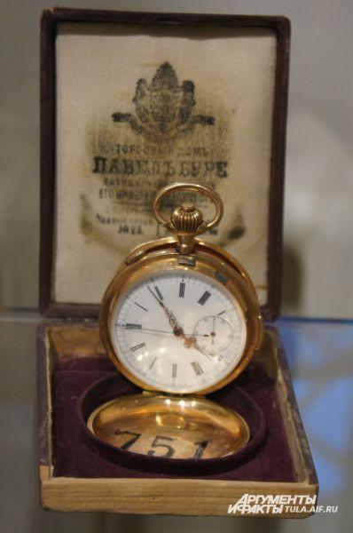 Секундомер фирмы Павел Буре, конец 19 века