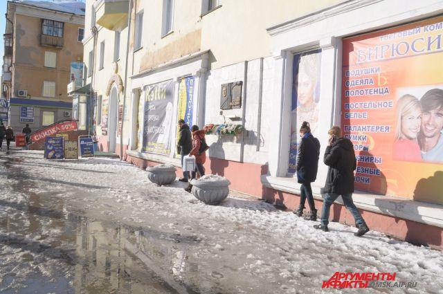 В Омске в конце декабря началась весна.