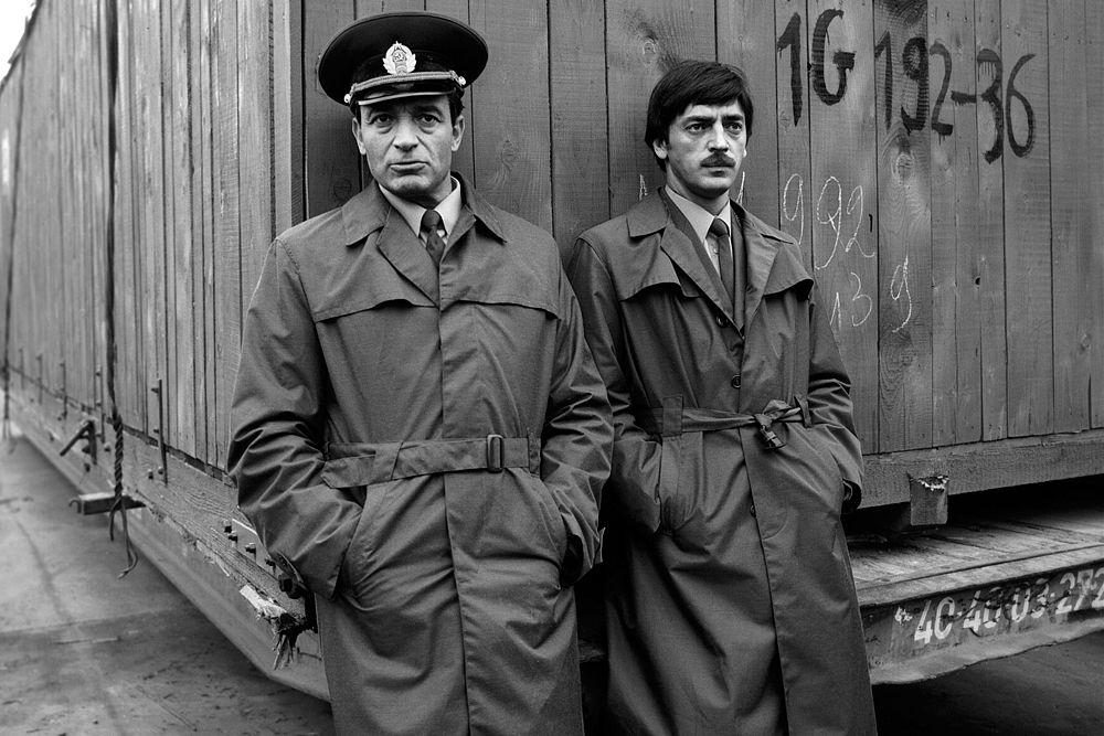 Валентин Гафт и Михаил Боярский в фильм «Таможня». 1982 год.