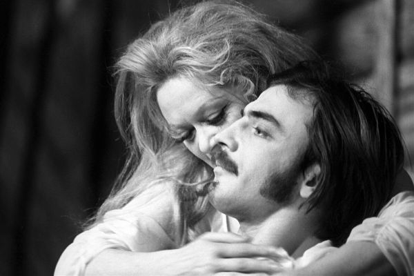 Алиса Фрейндлих и Михаил Боярский. 1970 год.