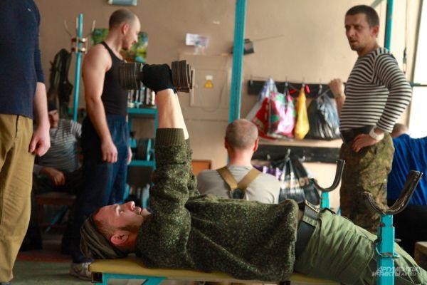 Тренировка бойцов батальона «Призрак».