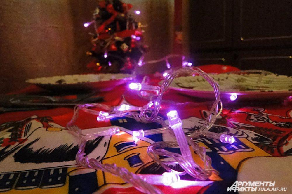Один из главных компонентов создания новогоднего настроения – яркая и живая гирлянда.