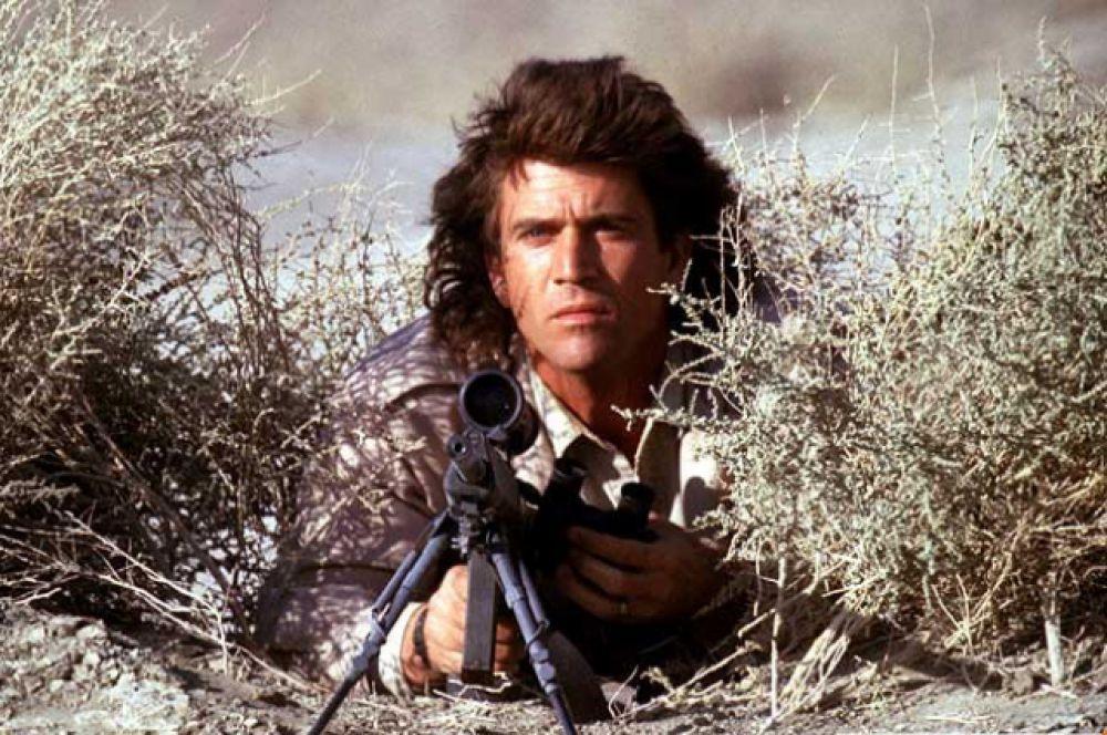 Фильм  «Смертельное оружие», вышедший в  1987 году стал началом успешной серии боевиков. Мел Гибсон становится звездой популярного тогда жанра и любимцем многих зрительниц.