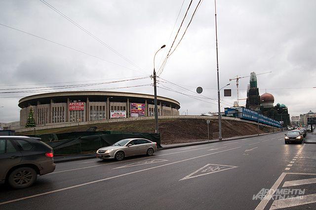 Стадион «Олимпийский».