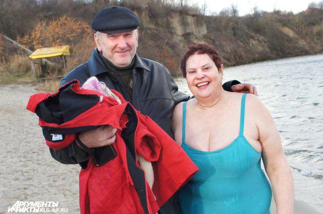 Валентина Шевлякова морозов не боится!