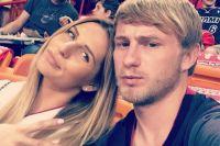 Роман Безус с женой