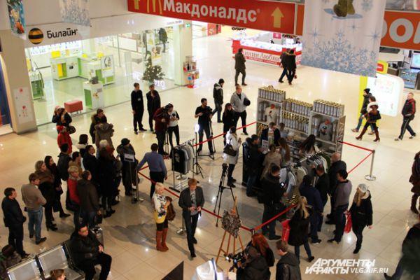 Футболки в Волгограде будут продавать до 30 декабря.