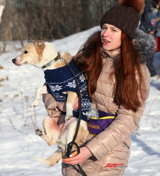 Анна Туманова и метис Доротея