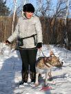 Ирина Тарасова и американский стаффордширский терьер Чейз