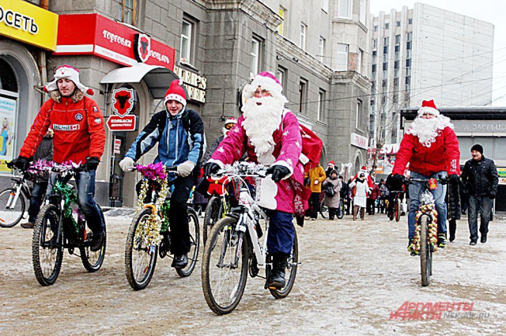 Принять участие в событии мог каждый: и опытные велосипедисты, и начинающие