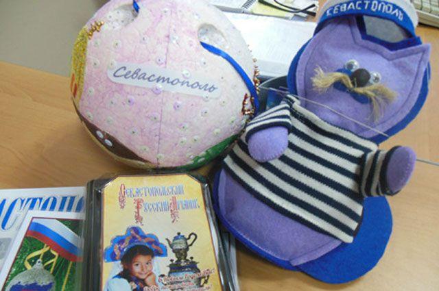 Новогодние игрушки из Севастополя в Иркутске.