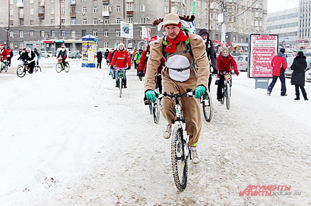 Зима и снег не испугали спортменов