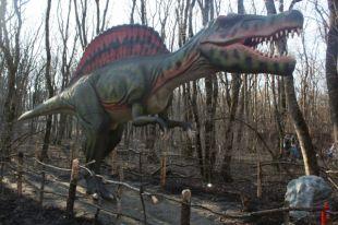 В Ставрополе открылся первый на Северном Кавказе динопарк «Рекс»